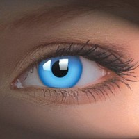 Amazon.com: iColor Complete Contact Lenses - Blue Out: Health & Personal Care