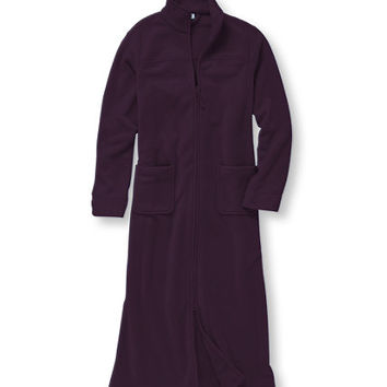 Winter Fleece Robe, Zip Front: Robes | Free Shipping at L.L.Bean