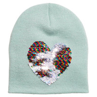 Hat with Sequins - from H&M