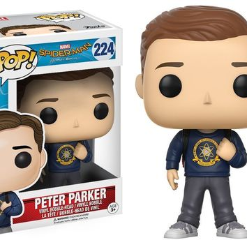 Funko Pop Marvel SpiderMan Peter Parker 224 13108