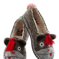 For Feet's Sake Slippers in Monkey | Mod Retro Vintage Flats | ModCloth.com