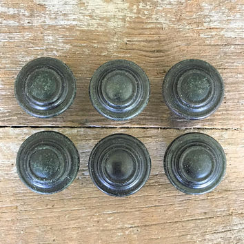 Drawer Knobs 6 Drawer Pulls Brass Knobs Dresser Knobs Cabinet Door Knobs Home Improvement Mid Century Hardware Gold Knobs Hollywood Regency