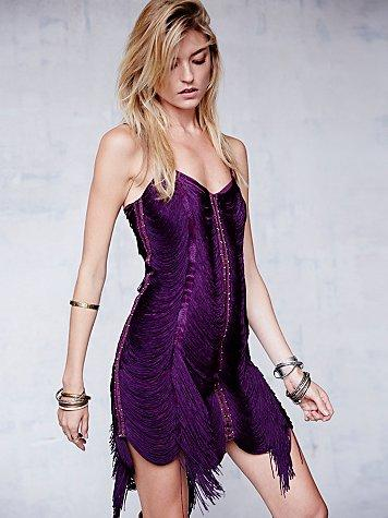 Free People Womens Jagger Fringe Dress from Free People c1f5faf1a