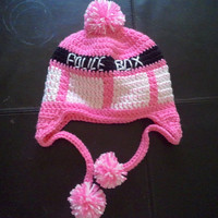 Breast Cancer awareness Deluxe Tardis Hat
