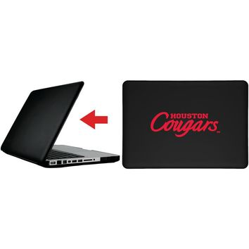 """University of Houston - Cougars Wordmark design on MacBook Pro 13"""" with Retina Display Customizable Personalized Case by iPearl"""