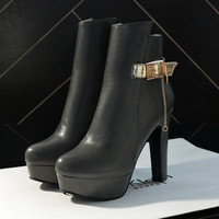 Hot Deal On Sale Winter Sexy High Heel Plus Size Boots [6366199428]