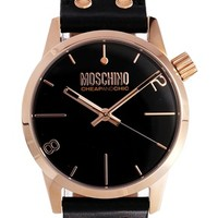 Moschino Cheap And Chic XXL Black Watch - Black