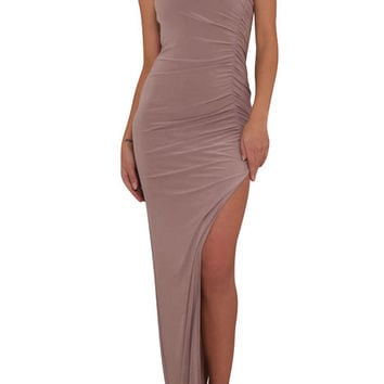 Lyssa Dress Taupe