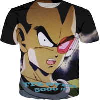 Vegeta with Scouter T-Shirt
