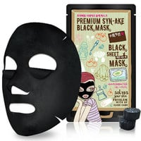 Dewytree Premium Syn-Ake Black Mask - Masks/Packs