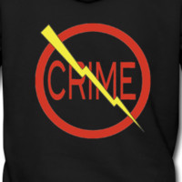 "Donald's 'Don't Do Crime"" hoodie (Front & Back)"