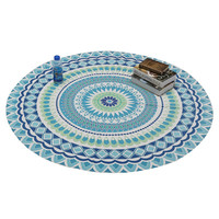 1pc Indian Mandala Tapestry Wall Hanging Carpet Beach Towel Throw Tapestry Bohemian Style Beach Yaga Bedspread Towel Blanket Rug