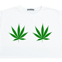 weed cannabis CROP TOP t shirt tee sit funny fun tumblr hipster swag grunge kale goth punk new retro vtg fashion boho indie new drugs