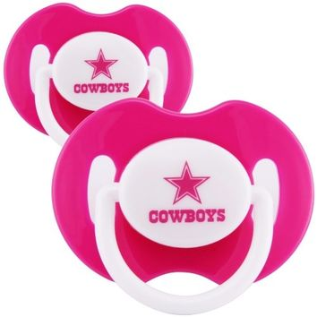 Dallas Cowboys 2-Pack Team Logo Pacifiers