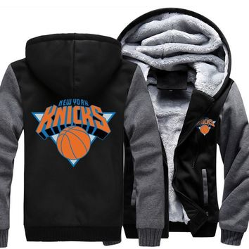[ 50% OFF!! ] NEW YORK KNICKS HOODIE JACKET - FREE SHIPPING