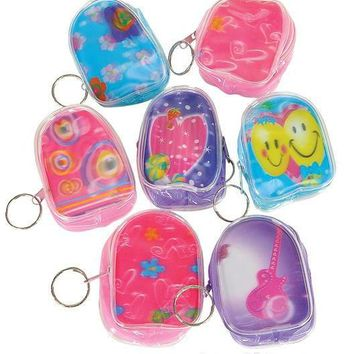 Flicker Backpack Keychain 3 inches