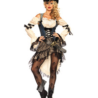 Treasure Island Pirate Adult Womens Costume – Spirit Halloween