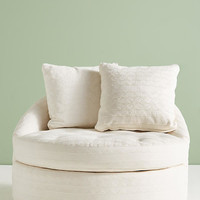 Textured Cotton Barwick Swivel Chair