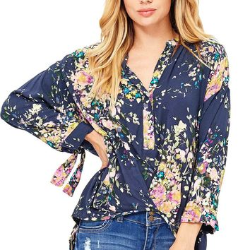 Heather Blossom Blouse