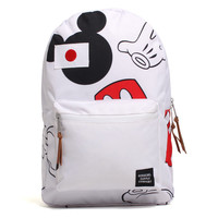 Disney Mickey Mouse Settlement Backpack White