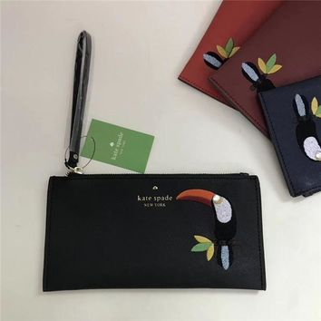 Kate Spade Bird Embroidery Pouch