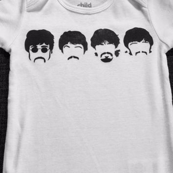 The Beatles Baby Onesuit or Toddler Tee