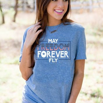 Freedom Forever Fly (Royal Blue) - Short Sleeve – ATX Mafia®