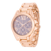 Fashion Accessories Roman Numeral  Watch ROSE GOLD