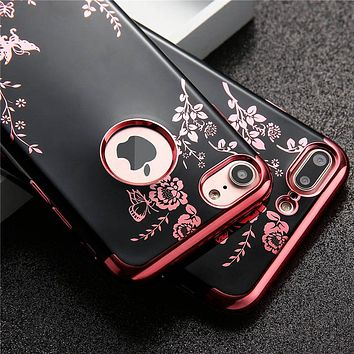 Midnight Floral Protective Case for iPhone 7, 7Plus, 8 , 8 Plus, 6s