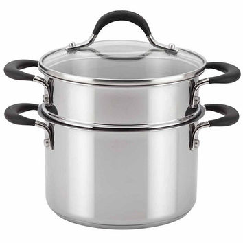 Circulon 3-pc. Stainless Steel Steamer Insert 78017 - JCPenney