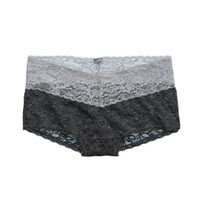 Aerie Women's Vintage Lace Girly Short