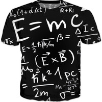 Nerdy Equation Shirt