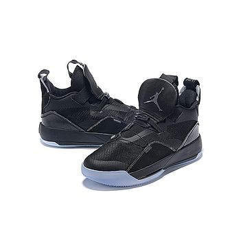 Air Jordan 33 XXXIII AJ33 Sneaker - All Black