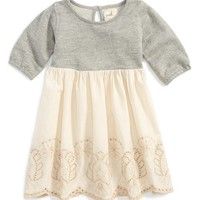 Infant Girl's Peek 'Jewel' Long Sleeve Dress,