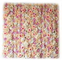 ARTIFICIAL ROSE FLOWERS WALL PANEL