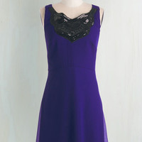 Vintage Inspired Mid-length A-line Fashion Sensation Dress