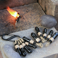 Outdoor Survival Gear self-igniting pine pitch FireStick fire starter