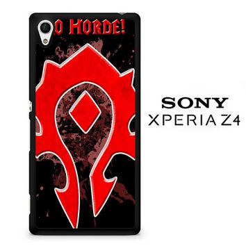 Warcraft Horde Crest 1 X0037 Sony Xperia Z4 Case