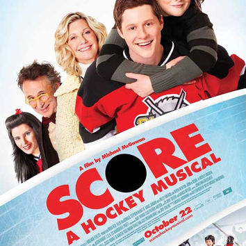 Score: A Hockey Musical 27x40 Movie Poster (2010)