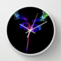 The Tulip Wall Clock by Steve Purnell