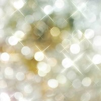 Gold and Silver Holiday Bokeh Platinum Cloth Backdrop - 6x8 - LCPC910 - LAST CALL