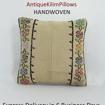 kilim pillow kilim rug home decor kilim pillow cover turkish pillow decorative pillows throw pillow rug pillow 000980