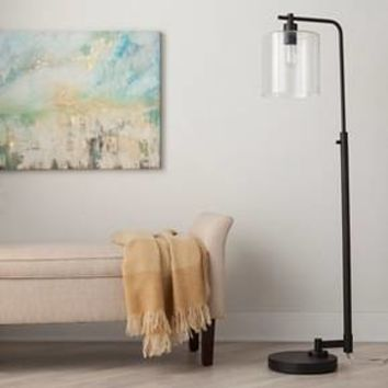 Hudson Industrial Floor Lamp - Threshold™