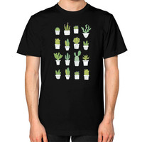 Cactus Unisex T-Shirt (on man)