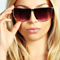 Alice Mixed Metal Sunglasses