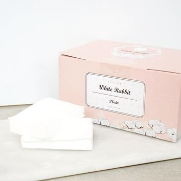 White Rabbit Plain Cotton Pads – Soko Glam