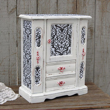 Best Painted Jewelry Armoire Products on Wanelo