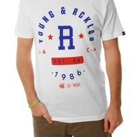 Young & Reckless Men's Tried & True Short Sleeve Crew Neck Graphic Tee