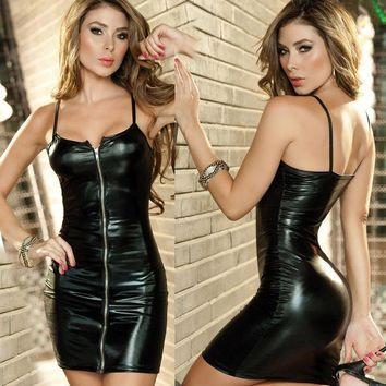 ac ICIKB5Q Cute Sexy On Sale Hot Deal Leather Skirt Exotic Lingerie [6595763267]