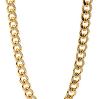11mm Gold Miami Cuban Curb Chain